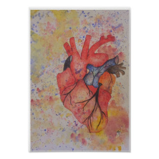 Passion comes from the heart poster