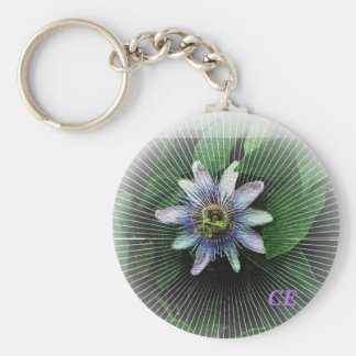 Passion Flower 3, CE Keychain