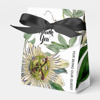 Passion Flower Favor Box