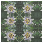 Passion Flower Floral Patterned Craft Fabric