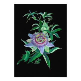 Passion Flower Invite