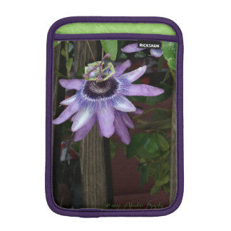 Passion Flower iPad mini sleeve