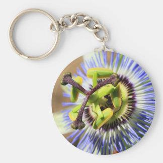 Passion Flower Keychain