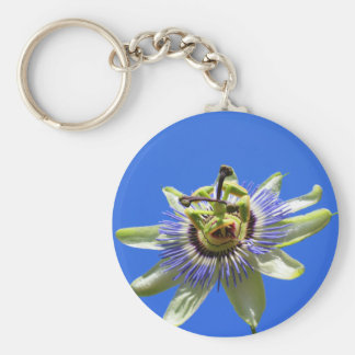 Passion Flower Keychain