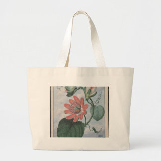 Passion Flower Large Tote Bag