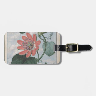Passion Flower Luggage Tag