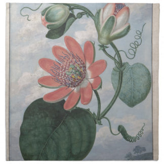 Passion Flower Napkin
