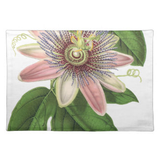 Passion flower placemat