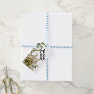 Passion Flower Wedding Invitation Tag
