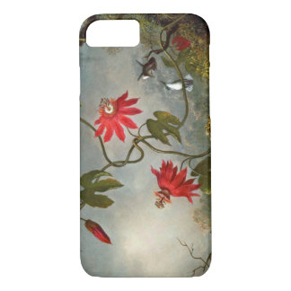 Passion Flowers and Hummingbirds 1870 iPhone 7 Case