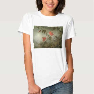 Passion Flowers and Hummingbirds by Martin J Heade Shirt