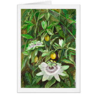 Passion Flowers Card
