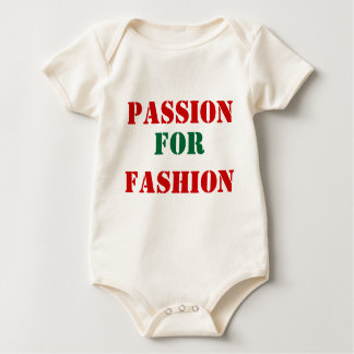Passion for fashion baby bodysuit