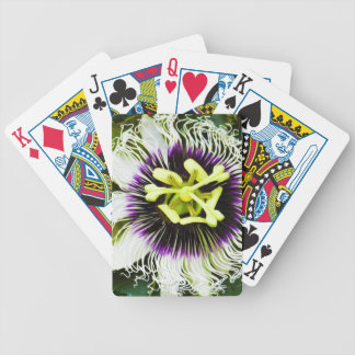 passion-fruit bicycle playing cards