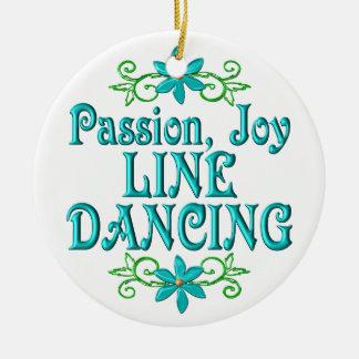 Passion Joy Line Dancing Ornaments