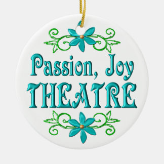 Passion Joy Theatre Ceramic Ornament