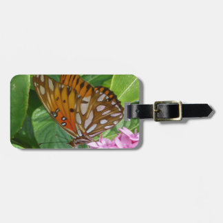 Passion Vine Butterfly Luggage Tag