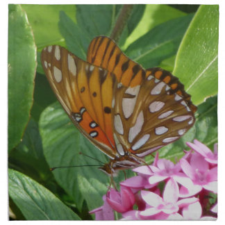 Passion Vine Butterfly Napkin