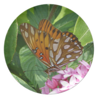 Passion Vine Butterfly Plate