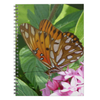 Passion Vine Butterfly Spiral Notebook