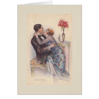 Passionate Couple, Card