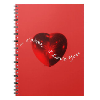 ☼PASSIONATE HEART☼ NOTEBOOK