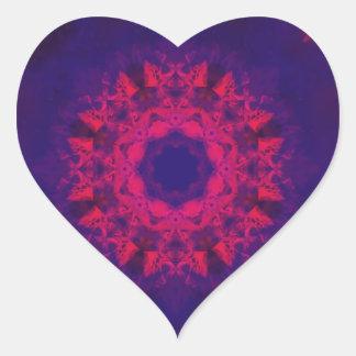 Passionate Love Heart Sticker