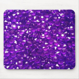 Passionate Purple Crystals Mouse Pad