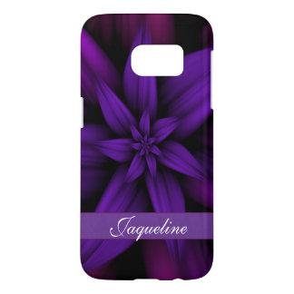 Passionate Purple Flower Samsung Galaxy S7 Case