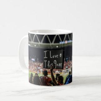 "Passionate soccer mug ""I love this game"""