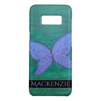 Passionate Tech   Butterfly Purple Blue Wing Green Case-Mate Samsung Galaxy S8 Case