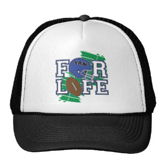 Passioné du football bleu-foncé casquettes