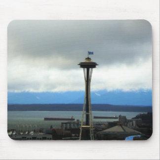 Passioné du football de Seattle Mousepad Tapis De Souris