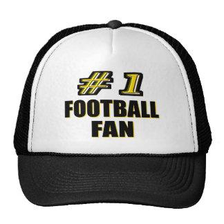 Passioné du football du numéro un casquettes