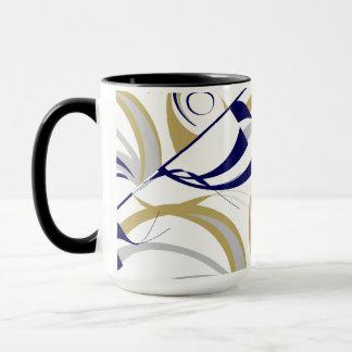 Passioné du football inspiré mug