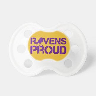 Passionés du football de Baltimore de bébé Sucettes Pour Bébé