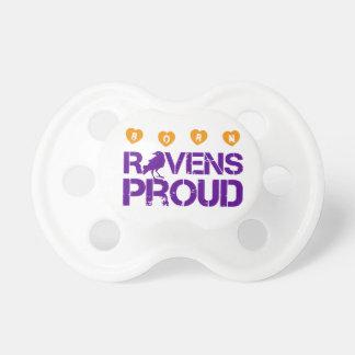 Passionés du football de Baltimore de bébé Tétine Pour Bébé