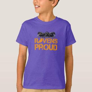 Passionés du football de fierté de Baltimore Tee Shirts