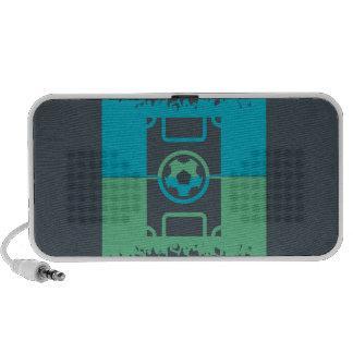 Passionés du football haut-parleur iPod