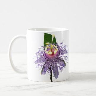 Passionflower - White Mug