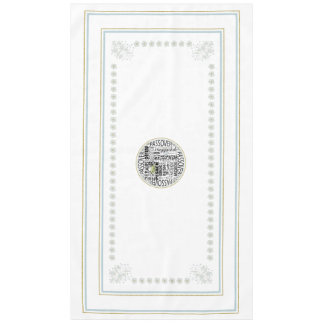 "Passover 60"" x 104"" Tablecloth ""Dayenu Tablecloth"""