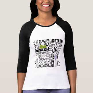 "Passover ""Dayenu and more... "" Womens Raglan Shirt"