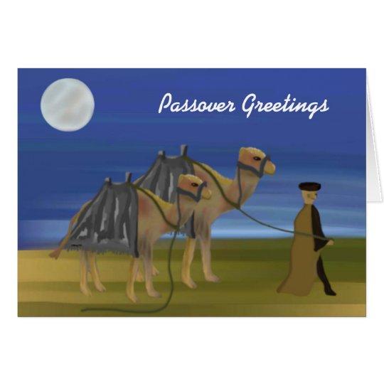 Passover Desert Caravan Card