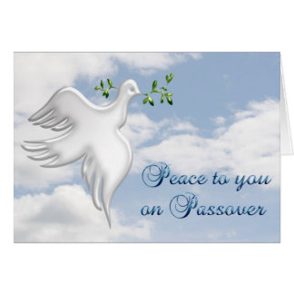 Passover Dove Card