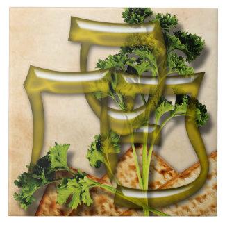 Passover Glazed Tile