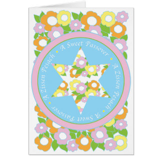 """Passover Greeting Card """"A Sweet Passover"""""""