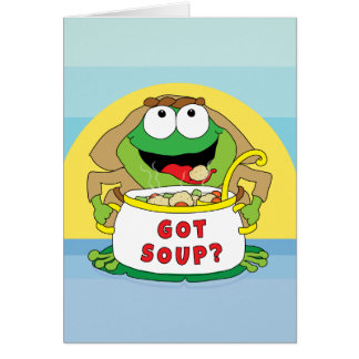"Passover Greeting Card ""Got Soup"""