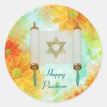 Passover Greetings Sticker