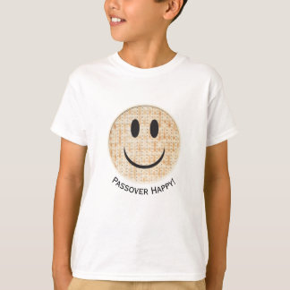 "Passover ""Happy Emoji ""  Boy's Tagless T-Shirt"