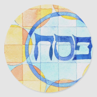 Passover Labels Round Sticker